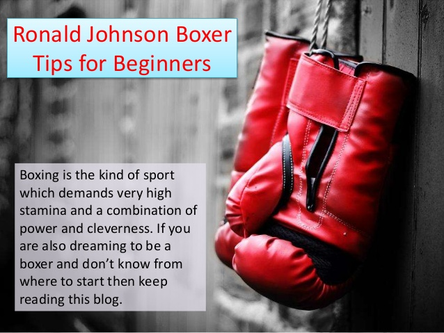 Boxing Tips for Beginners