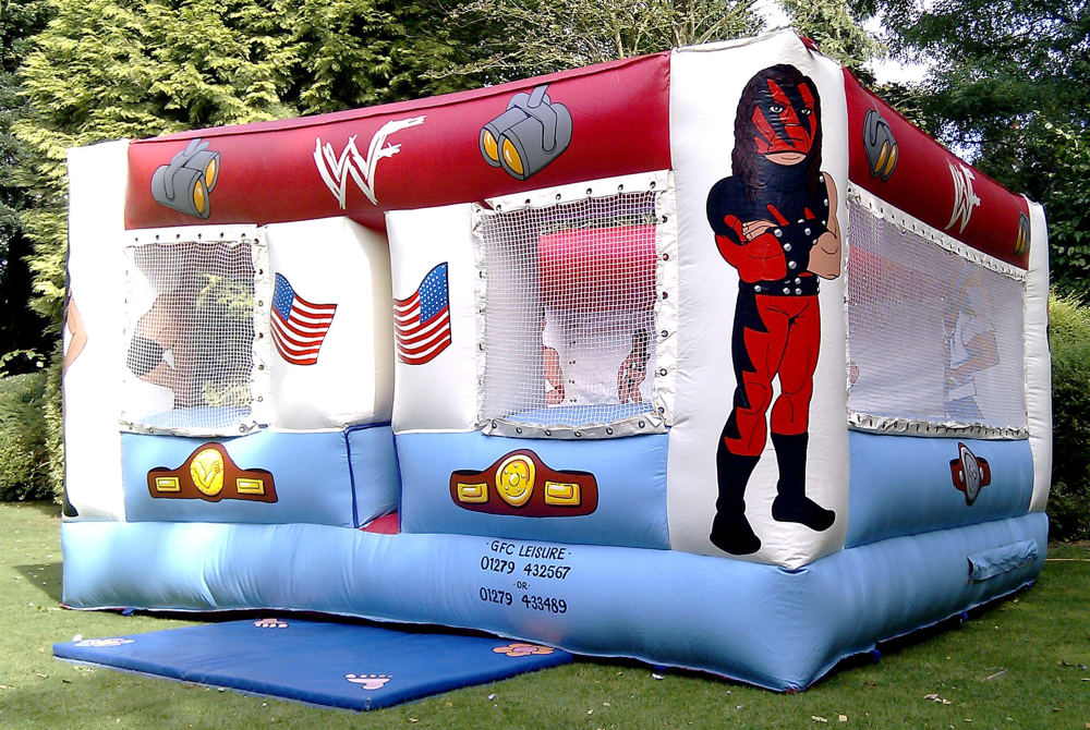WWE Inflatable Wrestling Ring